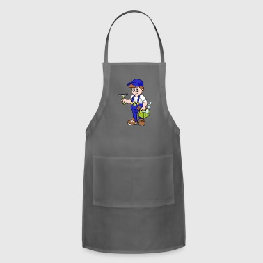 Windows Window Cleaner - Adjustable Apron
