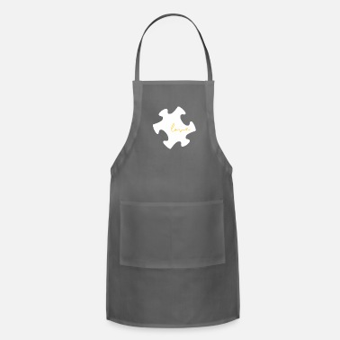 Autism Awareness Autism Love - Autism Awareness - Adjustable Apron