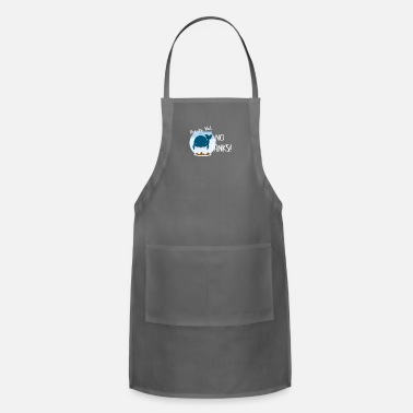 No Thanks Thanks But No Thanks - Adjustable Apron
