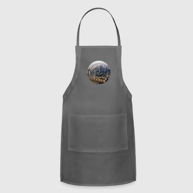 City city - Adjustable Apron