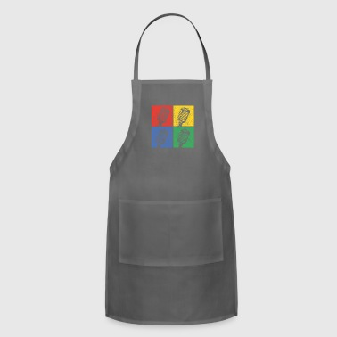 Pop Music Music Pop Art - Adjustable Apron