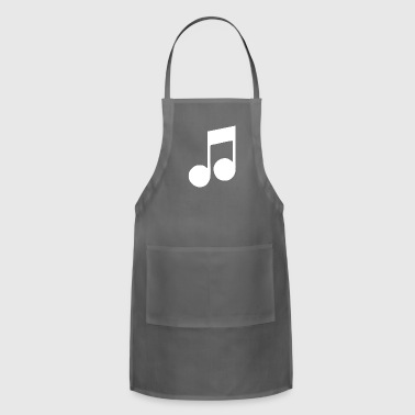 MUSIC NOTE - Adjustable Apron