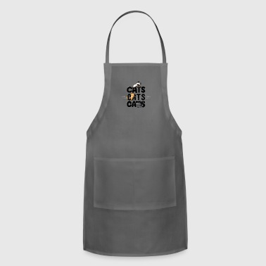 CATS CATS CATS - Adjustable Apron