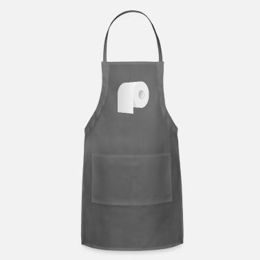 Toilet Humor Toilet Roll - Adjustable Apron