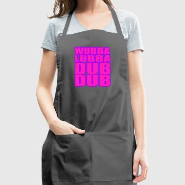 wubba lubba dub dub - Adjustable Apron
