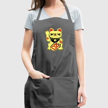 Super Grumpy Bad Luck Cat - Adjustable Apron