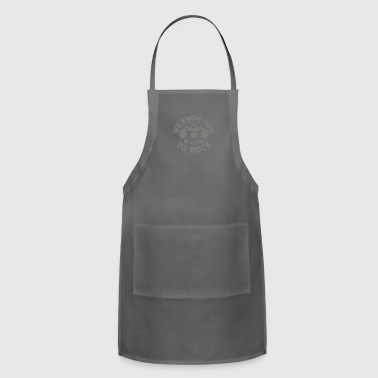 We Know How To Rock - Adjustable Apron