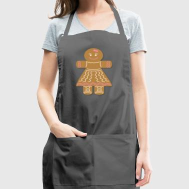 gingerbread - Adjustable Apron