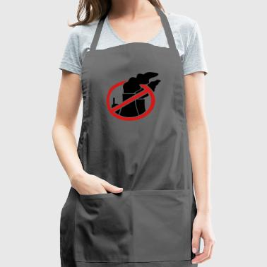Against nuclear power - Adjustable Apron