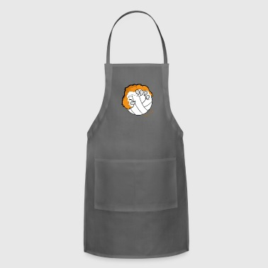 volley ball with Tiger claw - Adjustable Apron