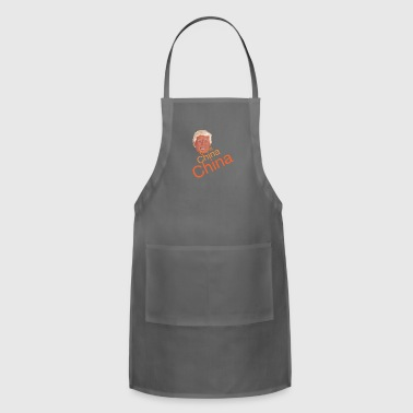 Donald Trump - China, China, China - Adjustable Apron