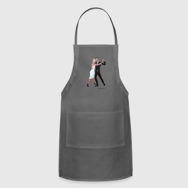 Romantic tango - Adjustable Apron