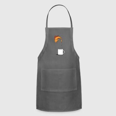 Fish Coffee Cup - Adjustable Apron