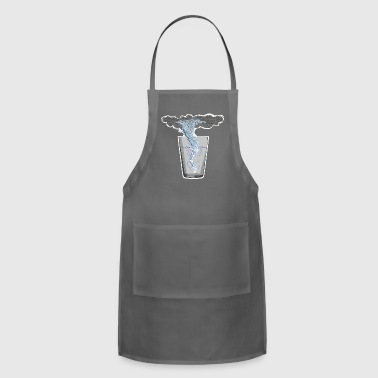 You know that's all a tempest in a teapot - Adjustable Apron