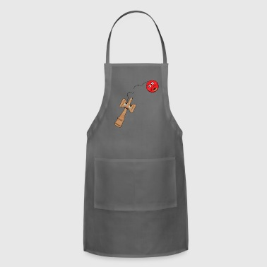 A ball and a wood stick - Adjustable Apron