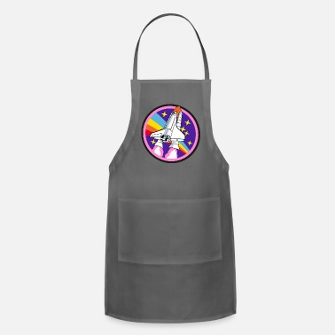 Spaceship Kids Rainbow Spaceship - Apron