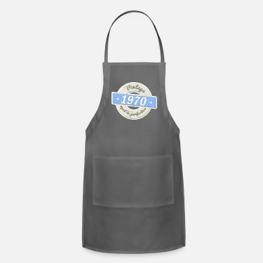 Birthday 50th birthday 1970 gift vintage aged to perfection - Apron