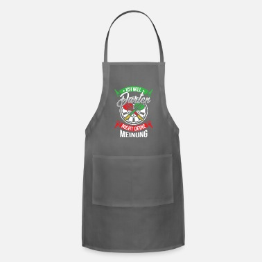 Here I will not darten your opinion of Italy style - Apron