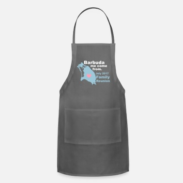 Family Reunion Barbuda Family Reunion - Adjustable Apron