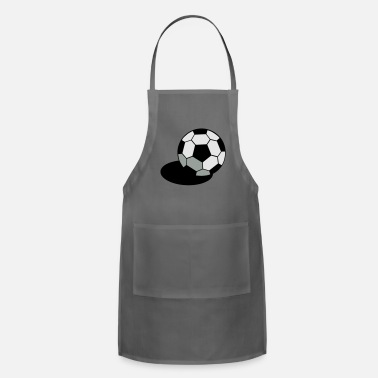 Regulation Football SOCCER FOOTBALL BALL WITH A SHADOW - Apron