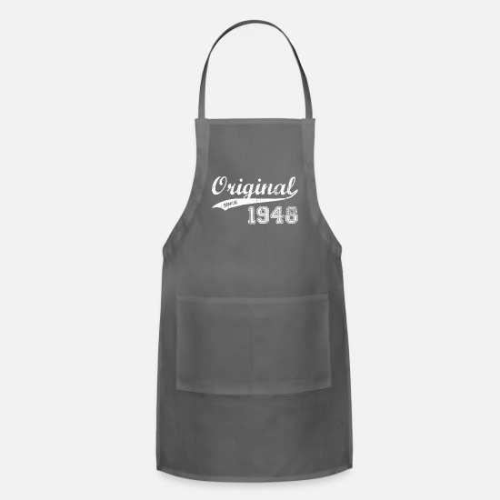 Birthday Aprons - 1948 - Apron charcoal