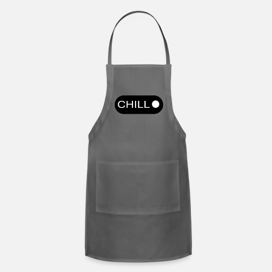 College Aprons - CHILL - Apron charcoal