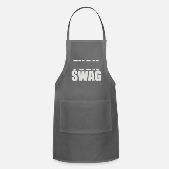 Game Aprons - F SWAG - Apron charcoal