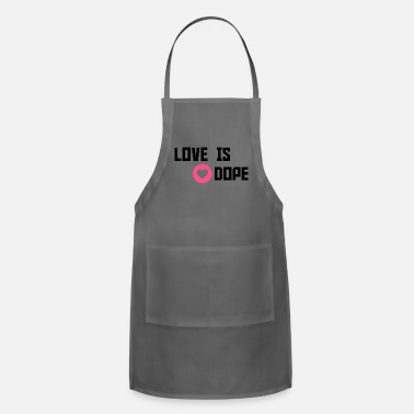Cuore love is dope - Adjustable Apron