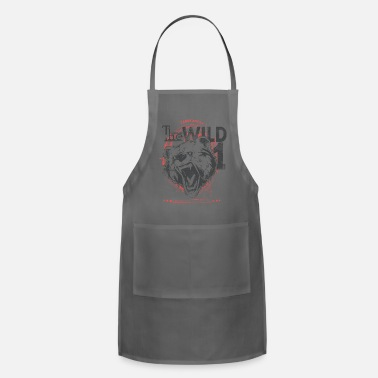 Wild Wild Bear into the wild - Apron