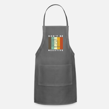 Snapshot Camera Don't Be Negative Retro Colors Vintage - Apron