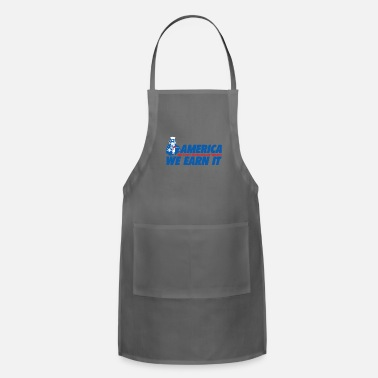 Wealth WEALTH EARN IT - Adjustable Apron