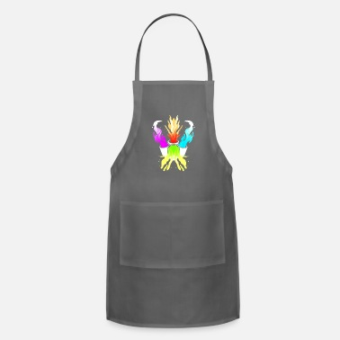 Color Artist Draftsman Colorful and colorful colors - Adjustable Apron