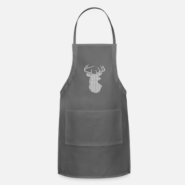Ugly Ugly Christmas Deer Edition - Adjustable Apron