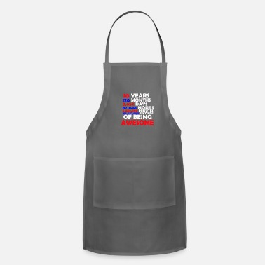 Awesome 10 Years…. Of Being Awesome - Adjustable Apron