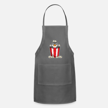 Beak Penguin with Popcorn cone - Apron