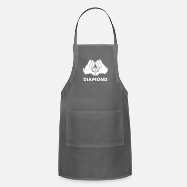 Mickey Hands Diamond mickey hands diamond - Apron