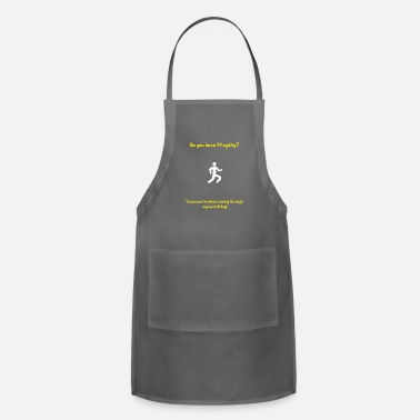 Pickup Line Runescape agility pickup line - Adjustable Apron