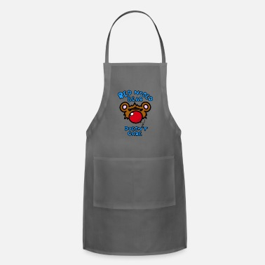 Red Nose Red Nosed Bear - Adjustable Apron