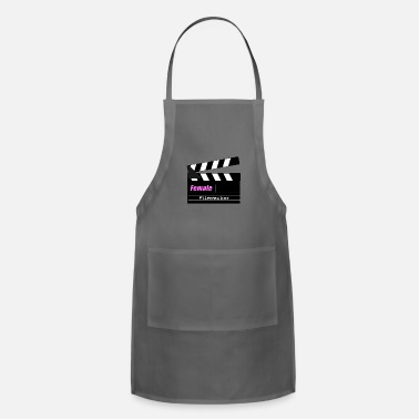 Filmmaker Female Filmmaker - Women in Film - Adjustable Apron