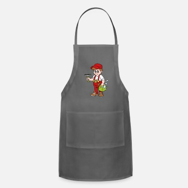 Cleaner Window Cleaner - Adjustable Apron