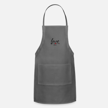 Bible Love One Another, Bible Verse - Adjustable Apron