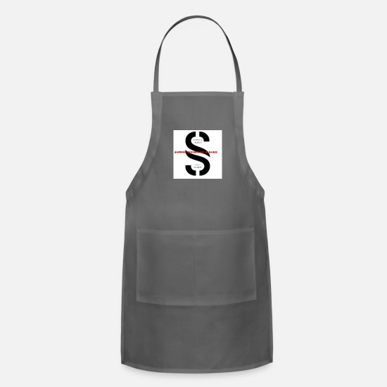 2017 Aprons - My Staff of 2017 - Apron charcoal