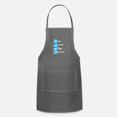 Tides Diver Eat Sleep Dive Repeat Diving Scuba Reef Gift - Apron