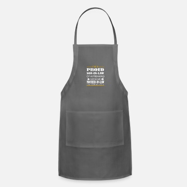 Son In Law Im a proud son in law - Adjustable Apron