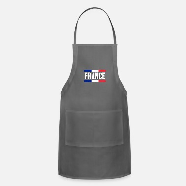 Notre Dame France Paris eiffel tower baguette gift idea - Adjustable Apron
