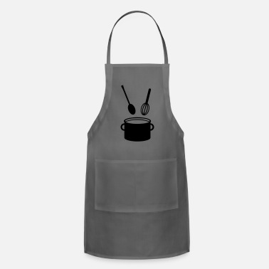 Cooking Pot - Spoon - Apron