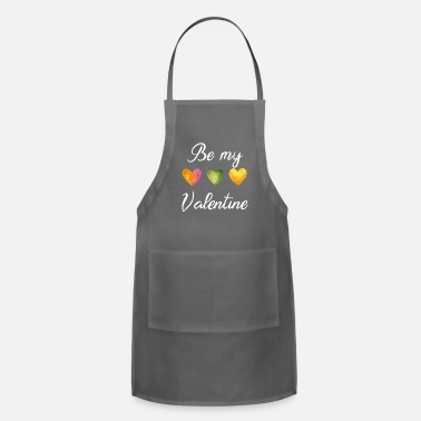 Be my Valentine - hearts - Apron