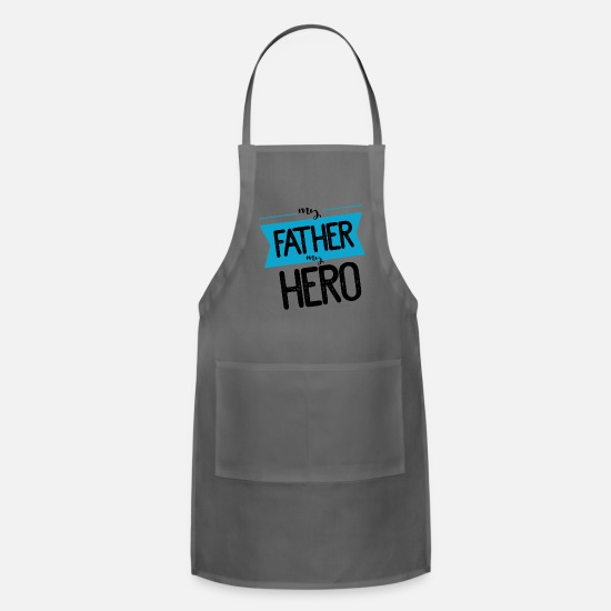 Day Aprons - fathers day - Apron charcoal