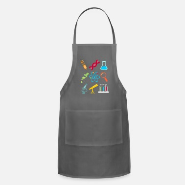 Nuclear Physik DNA Element Atom E=mc² Science Gift - Adjustable Apron