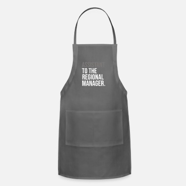 Region Assistant to the Regional Manager TShirt - Adjustable Apron